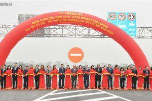 Thông xe cầu Hưng Hà và tuyến đường bộ nối cao tốc Hà Nội - Hải Phòng với cao tốc Cầu Giẽ - Ninh Bình
