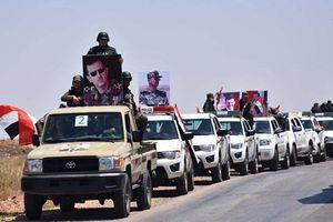 Quân đội Syria rầm rộ đưa xe tăng, vũ khí hạng nặng tới 'tử trận' Idlib