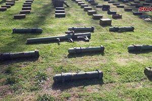 Quân đội Syria tiếp tục mùa thu hoạch vũ khí trang bị của 'quân nổi dậy'