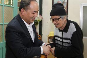 Thứ trưởng Lê Khánh Hải chúc tết nguyên lãnh đạo ngành