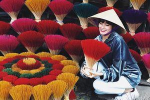 Làng hương Thủy Xuân rực rỡ, nhộn nhịp phục vụ Tết thuộc tỉnh nào?
