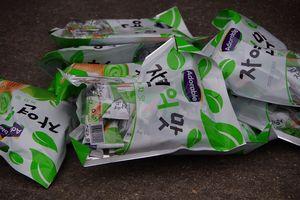 Tịch thu hơn 2 tấn bánh kẹo do Hàn Quốc sản xuất nhập lậu