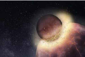 Trái đất va chạm với một hành tinh khác và có thể đó là lý do sự sống tồn tại