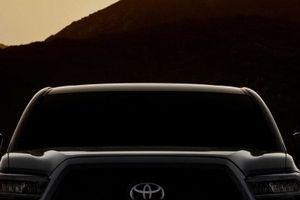 Toyota Tacoma 2019 nhá hàng với đèn chiếu sáng và ghế chỉnh điện mới