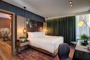 Bên trong khách sạn thuần chay đầu tiên trên thế giới