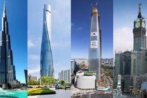 Top 10 tòa nhà cao nhất thế giới: Khó tin chiều cao 1km