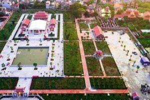 Khánh thành nhà tưởng niệm đồng chí Nguyễn Đức Cảnh