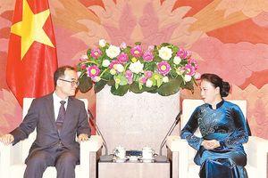 Chủ tịch QH Nguyễn Thị Kim Ngân tiếp đoàn Viện Công tố tối cao Hàn Quốc