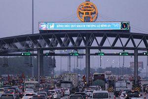 Tổng cục Đường bộ Việt Nam đề xuất xả toàn bộ các trạm thu phí BOT trong 3 ngày Tết