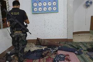 Nhà thờ Hồi giáo Philippines bị ném lựu đạn, xảy ra thương vong