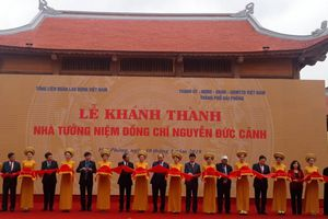 Thủ tướng dự lễ khánh thành nhà tưởng niệm lãnh tụ Nguyễn Đức Cảnh