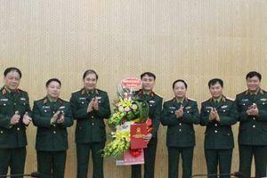 Công bố quyết định nhân sự của Bộ trưởng Quốc phòng