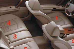 Ngồi những vị trí nào an toàn nhất trên xe ôtô?