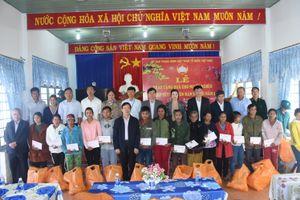Đoàn công tác Trung ương thăm, tặng quà Tết tại Kon Tum