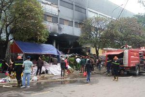Cháy Chợ Thái ở TP Thái Nguyên