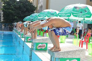 Sôi nổi tranh tài Festival Bơi lội học sinh TP. Hồ Chí Minh năm học 2018 - 201
