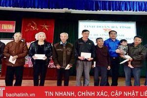 Tuổi trẻ Hà Tĩnh huy động 6,4 tỷ đồng hỗ trợ người nghèo dịp Tết