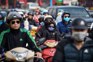 Dòng người về quê ăn Tết khiến cửa ngõ thủ đô Hà Nội ùn ứ