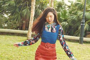 Con gái 15 tuổi của Chân Tử Đan làm người mẫu ảnh cho tạp chí danh tiếng