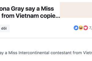 Không chỉ Ngân Anh, người đẹp Thái Lan cũng có màn pose dáng copy Miss Universe 2018, cùng 'chiếm sóng' báo quốc tế