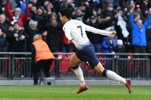 Son Heung-min ghi bàn, Tottenham đánh chiếm ngôi nhì bảng