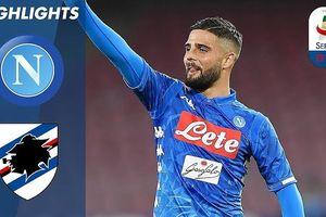 Napoli - Sampdoria 3-0: Arek Milik, Lorenzo Insigne, Simone Verdi thi tài 'bắn phá'