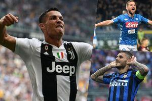 Cuộc đua 'Vua phá lưới' Serie A 2018/2019: Ronaldo lên đỉnh