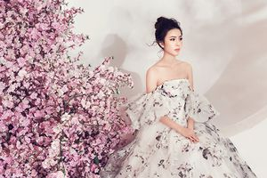 Bộ ảnh đẹp như thần tiên của Hoa hậu Biển Việt Nam Toàn cầu