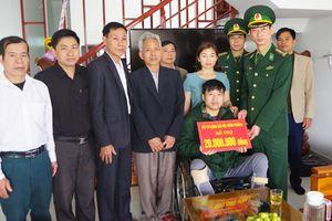 BĐBP Nghệ An trao quà hỗ trợ 5 quân nhân có hoàn cảnh đặc biệt khó khăn