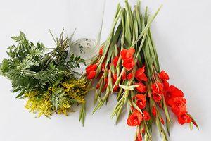 Nhờ những mẹo giữ hoa lay ơn mẹ chồng mách mà bình hoa của tôi tươi rói suốt mấy ngày Tết