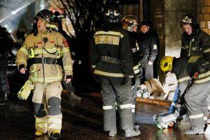 Cháy khu căn hộ cao cấp ở thủ đô Moskva (Nga), nhiều người thương vong