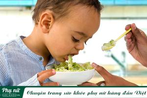 Ngộ độc thức ăn ở trẻ và cách xử trí đúng