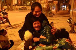 Mang Tết ấm đến với người vô gia cư ở Hà Nội