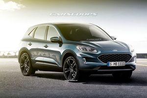 Ford Escape 2020 sẽ có thiết kế mềm mại và sang trọng hơn