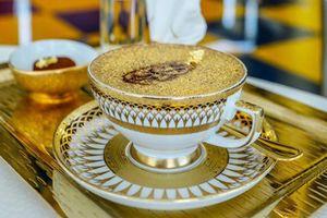 Cappuccino phủ bột vàng và 7 món ăn xa hoa ở Dubai