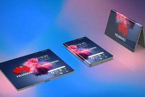Lộ hình ảnh smartphone màn hình gập đầu tiên của Huawei