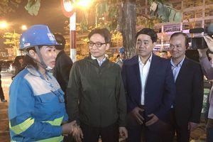 Phó Thủ tướng Vũ Đức Đam thăm, chúc Tết công nhân môi trường Hà Nội