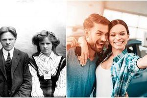 Những bức ảnh lột tả chân thực sự thay đổi trên khắp thế giới trong 100 năm