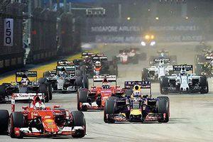 Tranh đua F1: Hà Nội vượt mặt Trung Quốc, Thái Lan