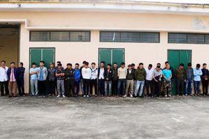 Hà Tĩnh: Bắt giữ 50 người đốt pháo trong đêm giao thừa