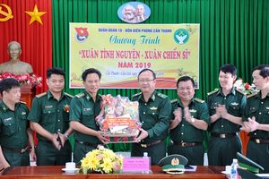 Thiếu tướng Nguyễn Hoài Phương kiểm tra công tác sẵn sàng chiến đấu tại BĐBP TP Hồ Chí Minh
