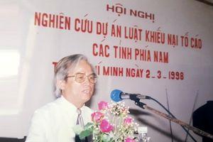 Cố PGS.TS Lê Bình Vọng: Những dấu ấn đặc biệt với ngành Thanh tra