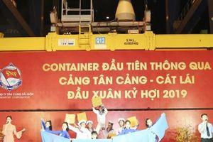 Tân cảng Sài Gòn phấn đấu 'cán đích' 5 triệu TEU hàng container