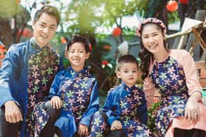 Vợ chồng Đăng Khôi: 'Cho các con trải nghiệm để hiểu được giá trị thực sự của Tết'