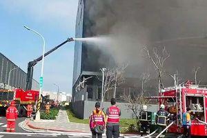 Ba lao động Việt Nam thiệt mạng trong vụ cháy nhà kho ở Đài Loan
