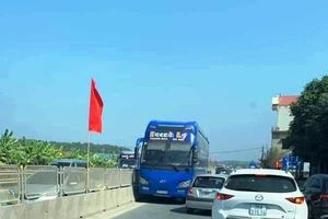 CSGT Thanh Hóa vào cuộc vụ xe khách chạy ngược chiều trên Quốc lộ 1A
