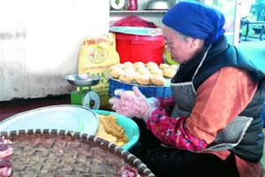 Tết ở làng bánh chưng Tranh Khúc