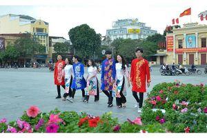 Dải vườn hoa trung tâm TP Hải Phòng: Điểm đến hấp dẫn mỗi dịp xuân về