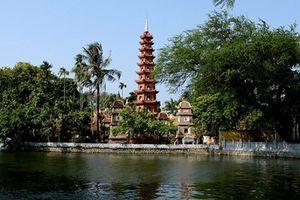 Điểm đến văn hóa tâm linh: Chùa Trấn Quốc - phủ Tây Hồ - chùa Hà