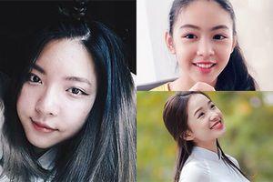 Dung nhan được ví như hoa hậu tương lai của con gái sao Việt